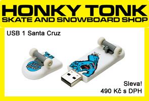 USB Santa Cruz ve slevě