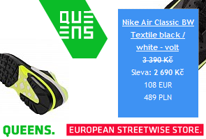 Nike Air Classic BW Textile black / white - volt