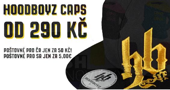 HoodBoyz Caps od 290 Kč